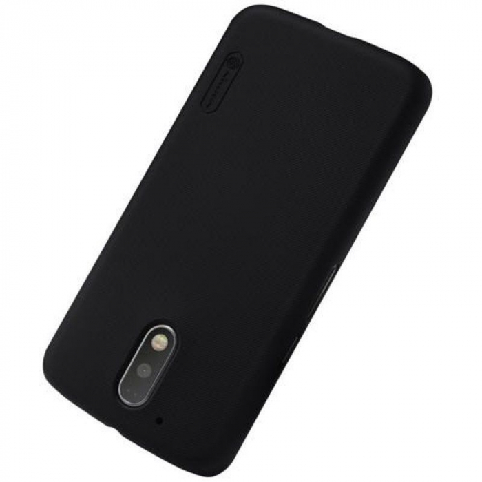 Husa Motorola Moto G4 Nillkin Frosted Shield - negru 1