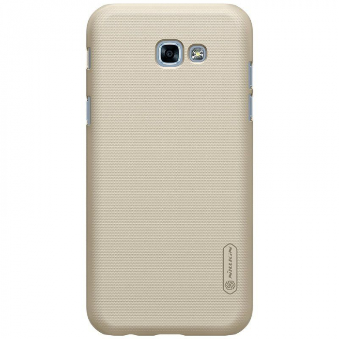 Husa Samsung Galaxy  A5 2017 Nillkin Frosted Shield - gold 3