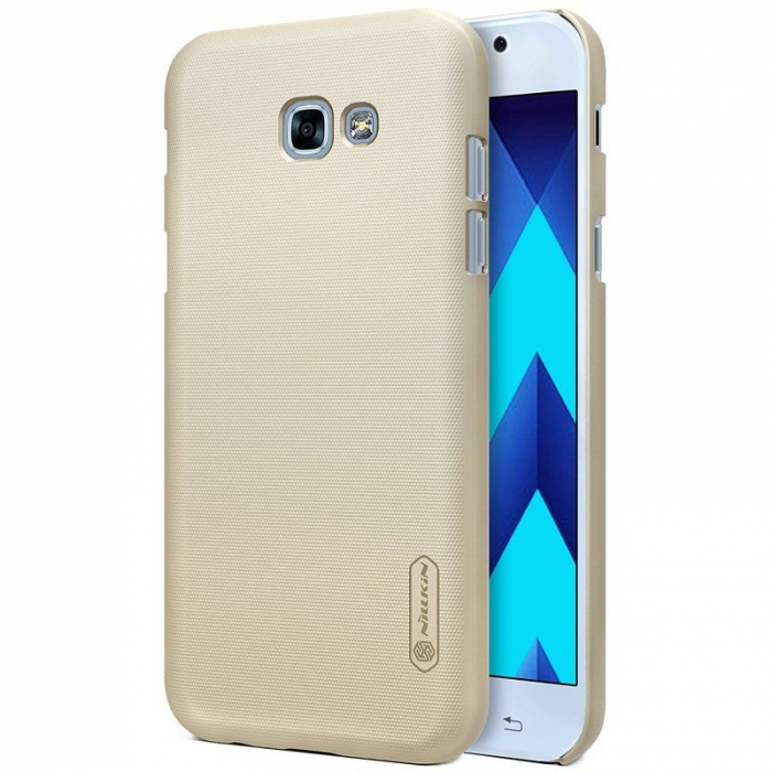 Husa Samsung Galaxy  A5 2017 Nillkin Frosted Shield - gold 0