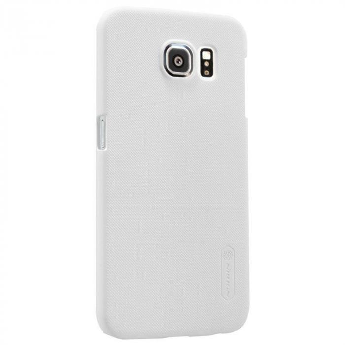 Husa Nillkin Frosted Shield Samsung Galaxy S6 - alb 2