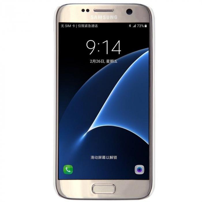 Husa Nillkin Frosted Shield Samsung Galaxy S7 - alb 1