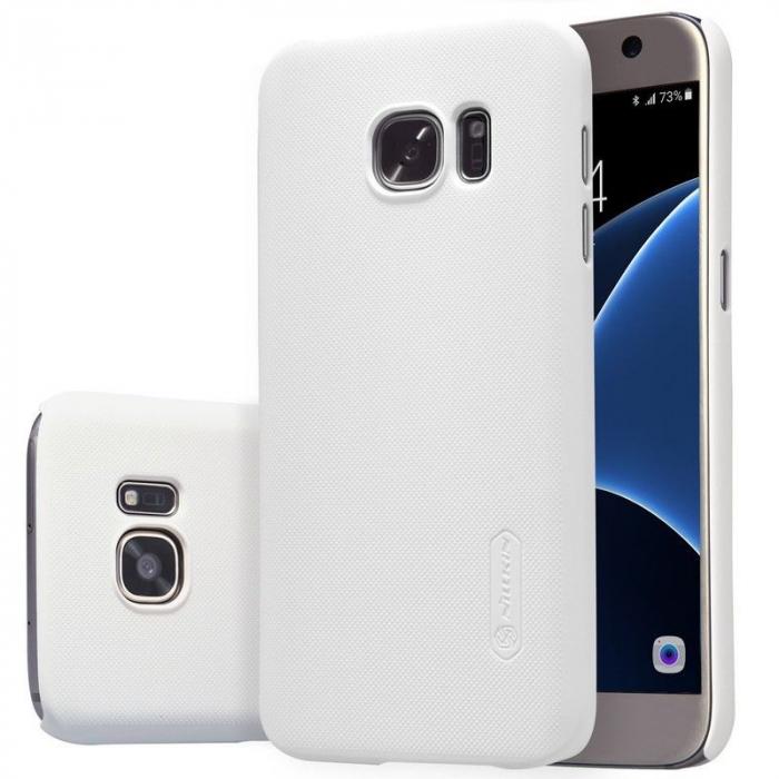 Husa Nillkin Frosted Shield Samsung Galaxy S7 - alb 5