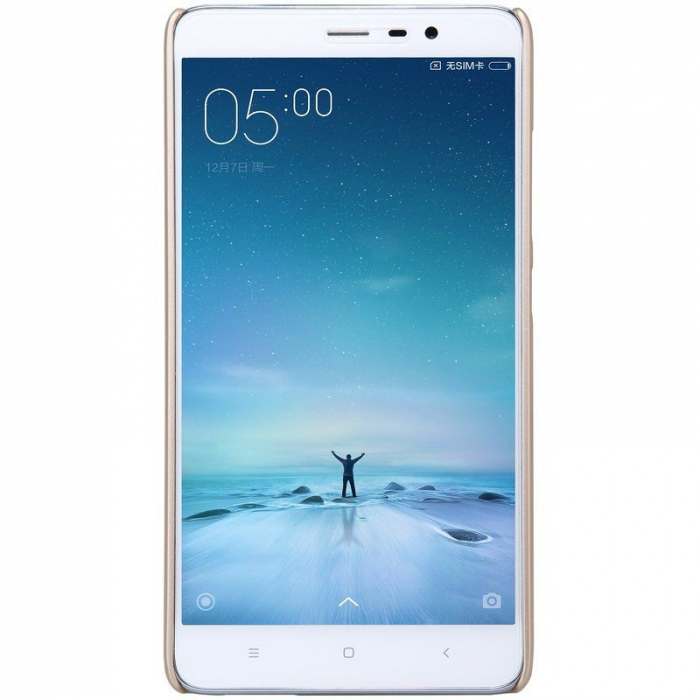 Husa Nillkin Frosted Xiaomi Redmi Note 3 - gold 4