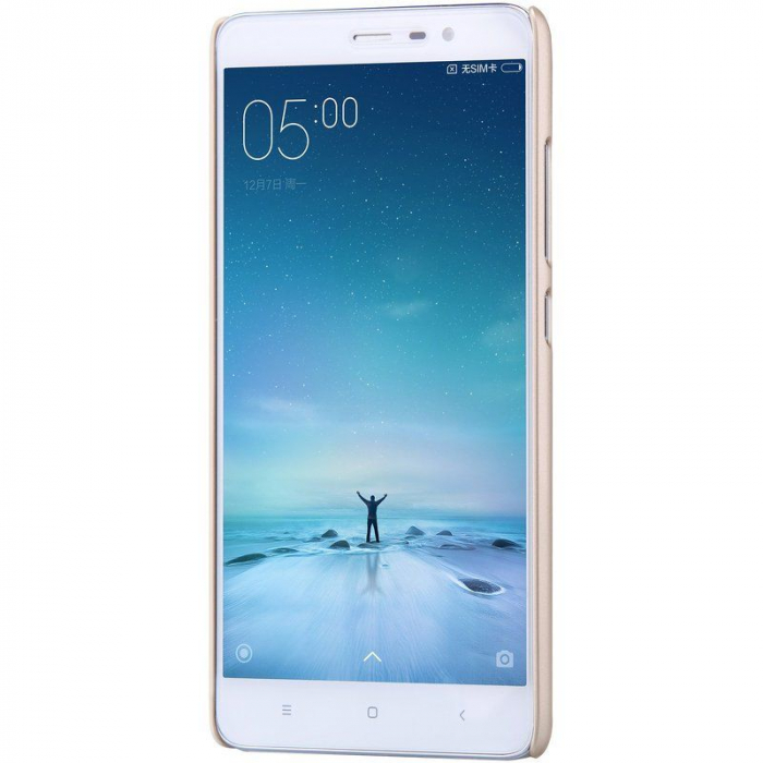 Husa Nillkin Frosted Xiaomi Redmi Note 3 - gold 5
