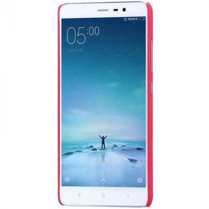 Husa Nillkin Frosted Xiaomi Redmi Note 3 - rosu 5