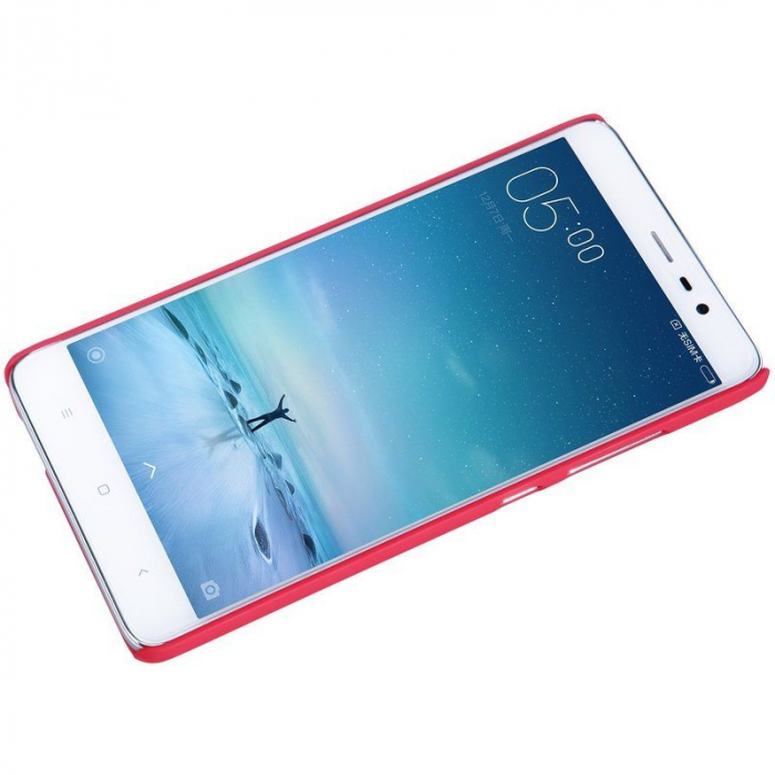 Husa Nillkin Frosted Xiaomi Redmi Note 3 - rosu 4