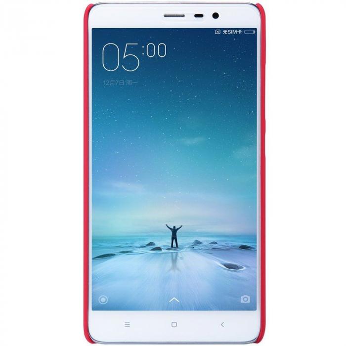 Husa Nillkin Frosted Xiaomi Redmi Note 3 - rosu 2