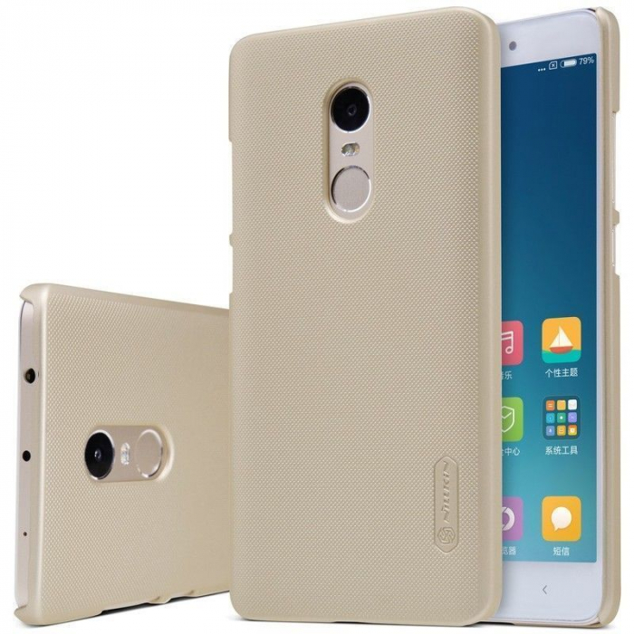 Husa Nillkin Frosted Xiaomi Redmi Note 4 - gold 3
