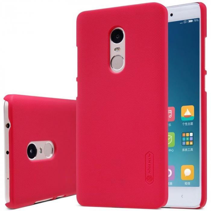 Husa Nillkin Frosted Xiaomi Redmi Note 4 - rosu [5]