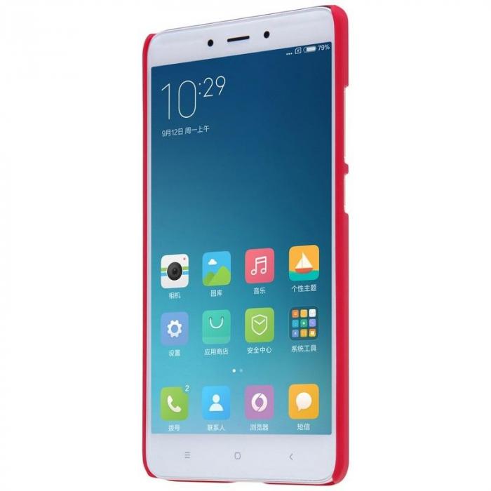 Husa Nillkin Frosted Xiaomi Redmi Note 4 - rosu [3]