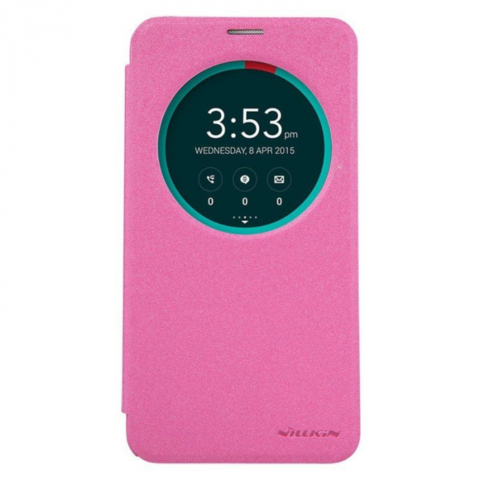Husa Asus Zenfone 2 5.5inch Nillkin Sparkle - roz 0