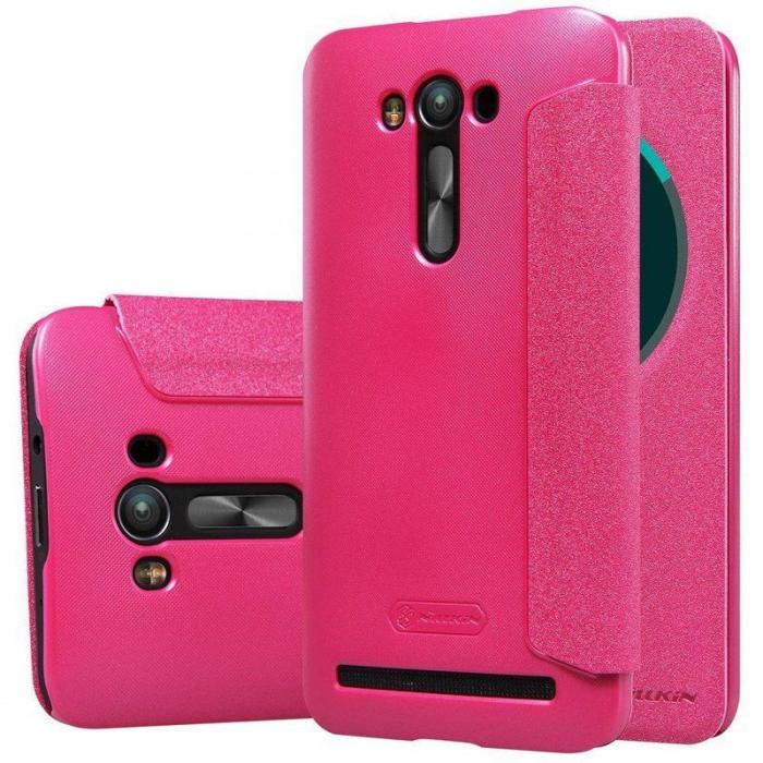 Husa Asus Zenfone 2 Laser 5.5inch Nillkin Sparkle - roz 1