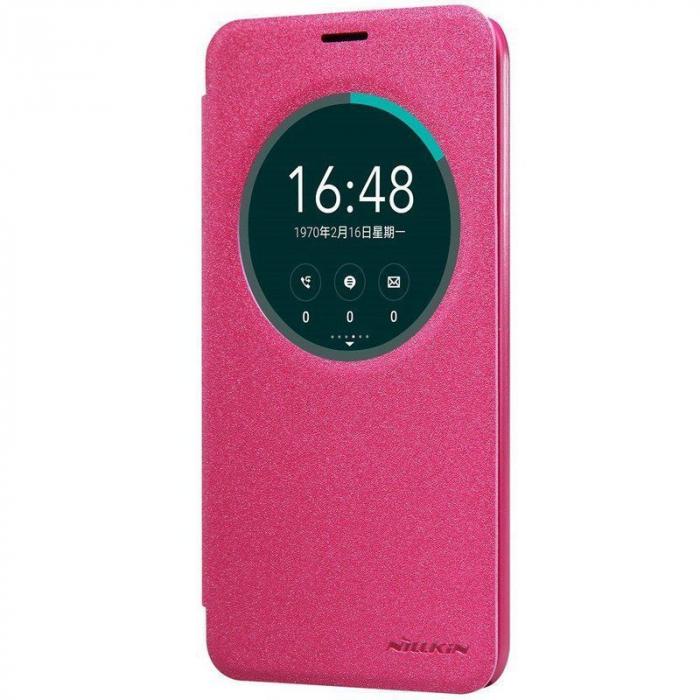Husa Asus Zenfone 2 Laser 5.5inch Nillkin Sparkle - roz 2