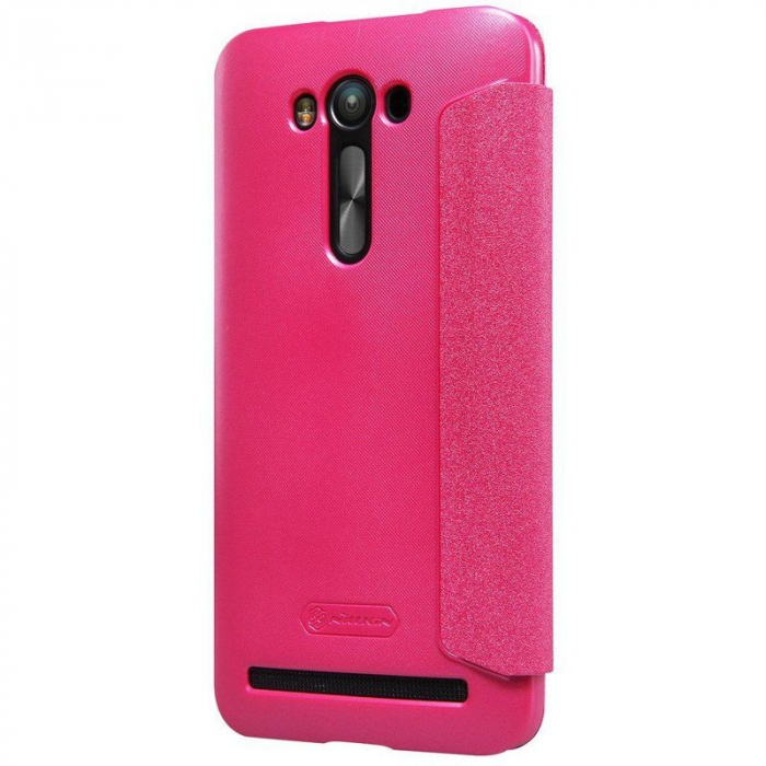 Husa Asus Zenfone 2 Laser 5.5inch Nillkin Sparkle - roz 3