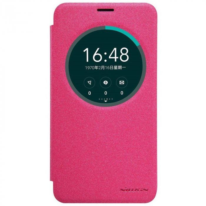 Husa Asus Zenfone 2 Laser 5.5inch Nillkin Sparkle - roz 0