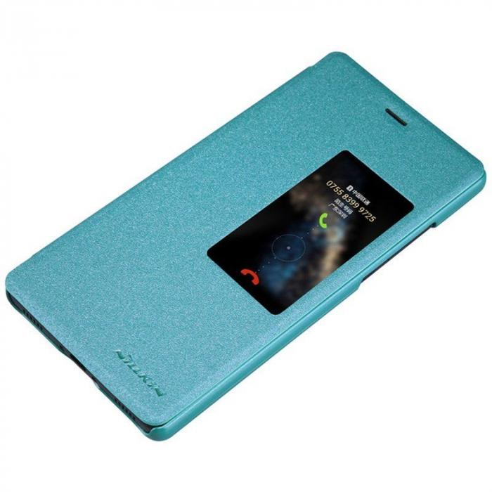 Husa Nillkin Sparkle Huawei Ascend P8 - albastru 5