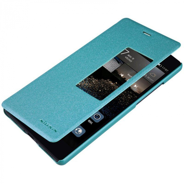 Husa Nillkin Sparkle Huawei Ascend P8 - albastru 2