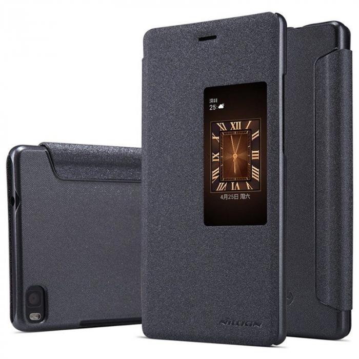 Husa Nillkin Sparkle Huawei Ascend P8 - negru 0