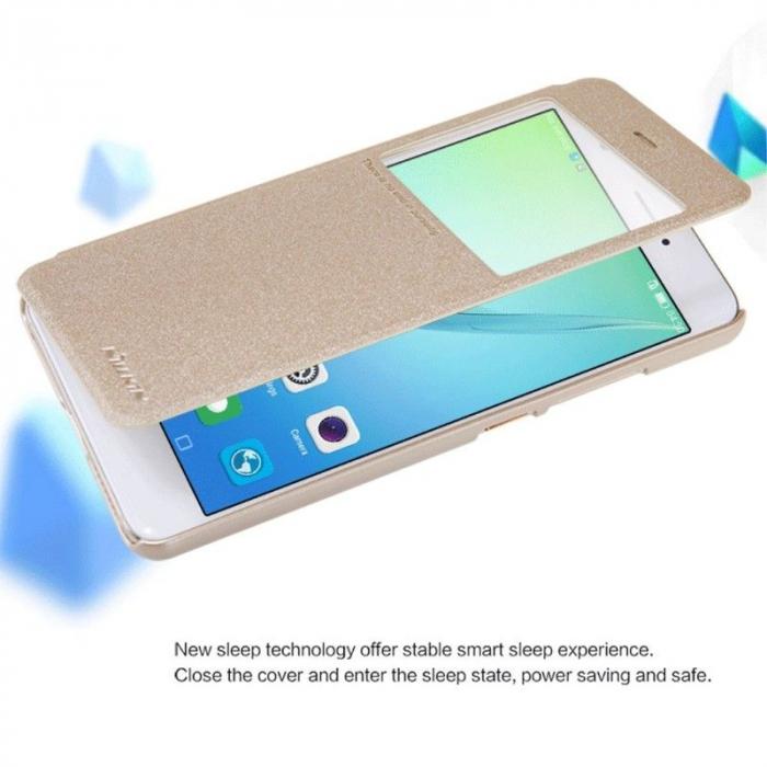 Husa Nillkin Sparkle Huawei Nova - gold 5