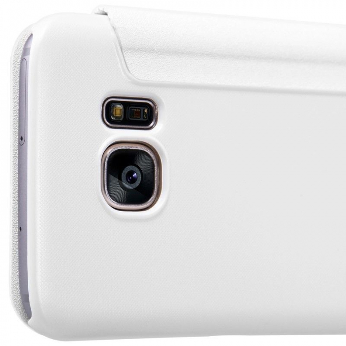 Husa Nillkin Sparkle Samsung Galaxy S7 - alb 2
