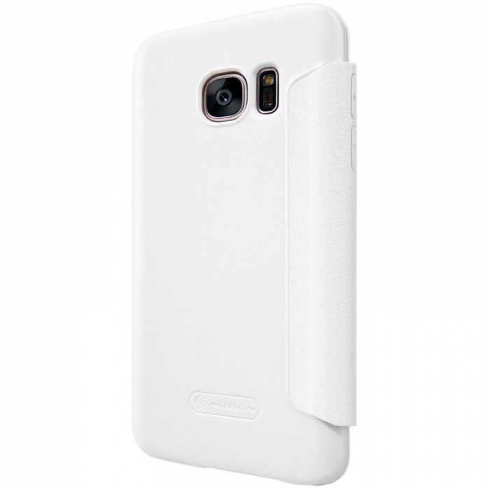 Husa Nillkin Sparkle Samsung Galaxy S7 - alb [5]