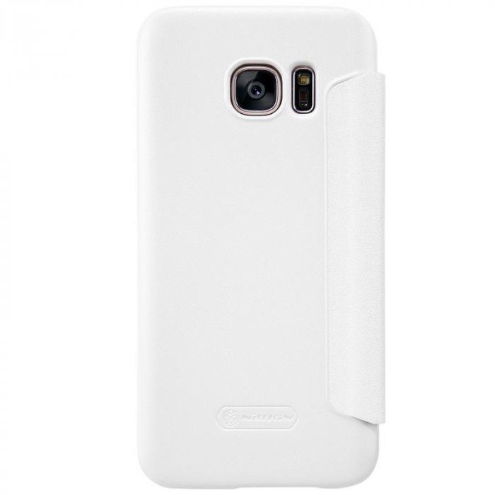 Husa Nillkin Sparkle Samsung Galaxy S7 - alb 4
