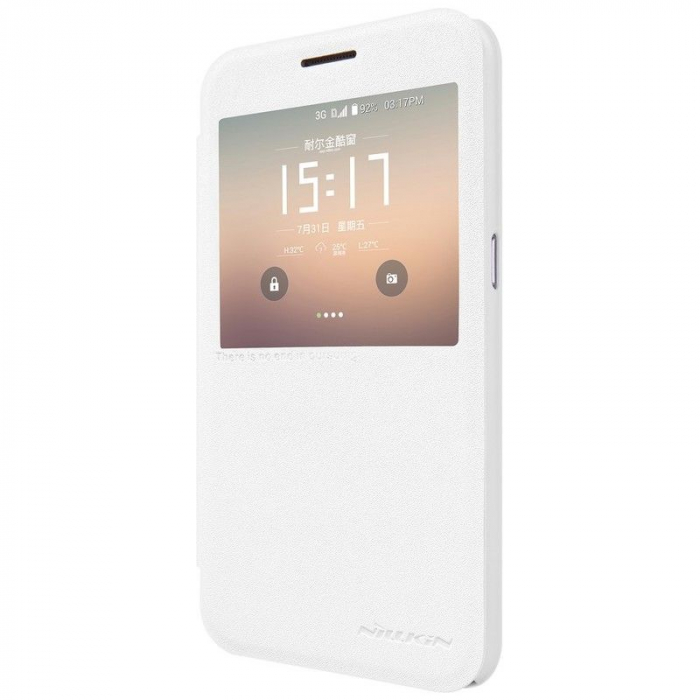 Husa Nillkin Sparkle Samsung Galaxy S7 - alb [3]