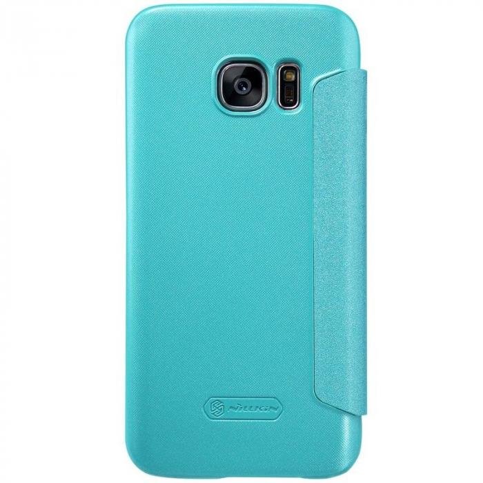 Husa Nillkin Sparkle Samsung Galaxy S7 - albastru 3