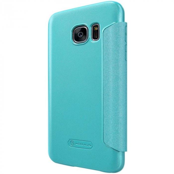 Husa Nillkin Sparkle Samsung Galaxy S7 - albastru 1