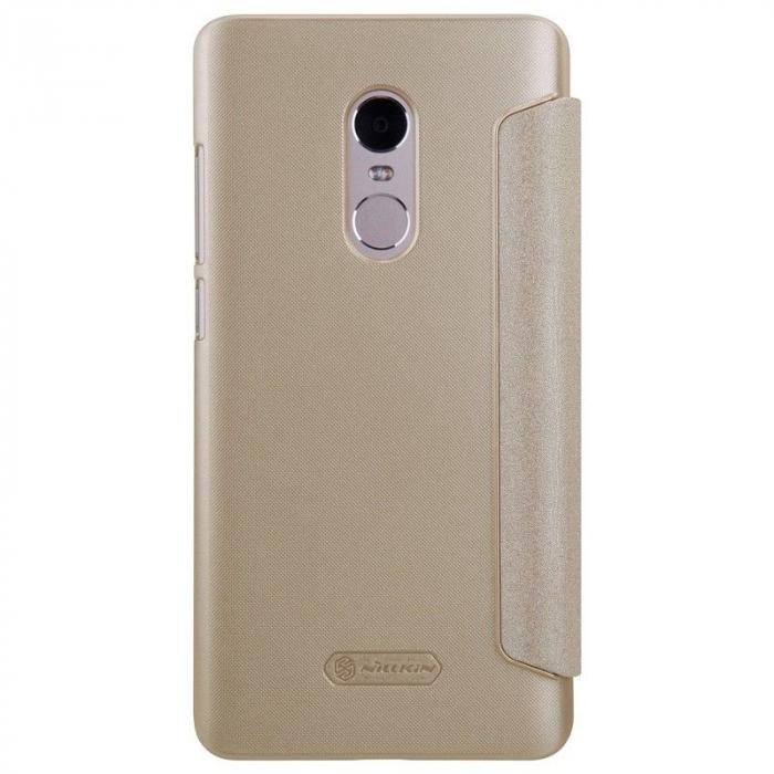 Husa Nillkin Sparkle Xiaomi Redmi Note 4 - gold 1