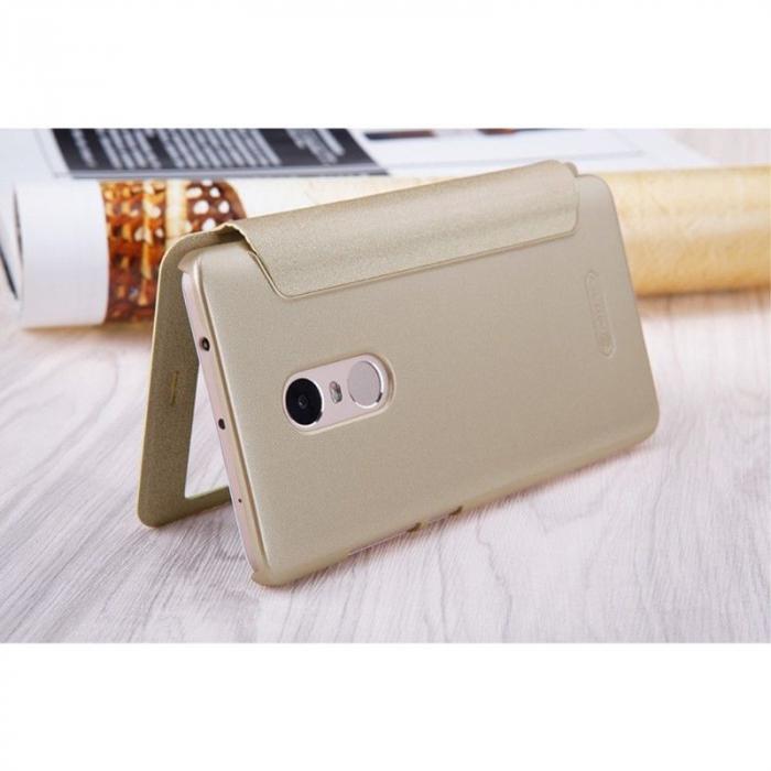 Husa Nillkin Sparkle Xiaomi Redmi Note 4 - gold 7
