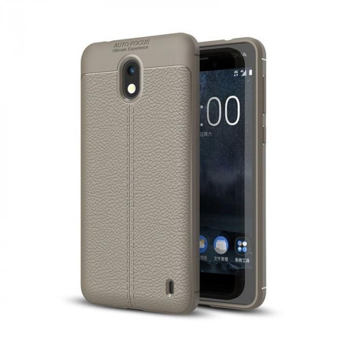 Husa Nokia 2 Tpu Grain - gri 0