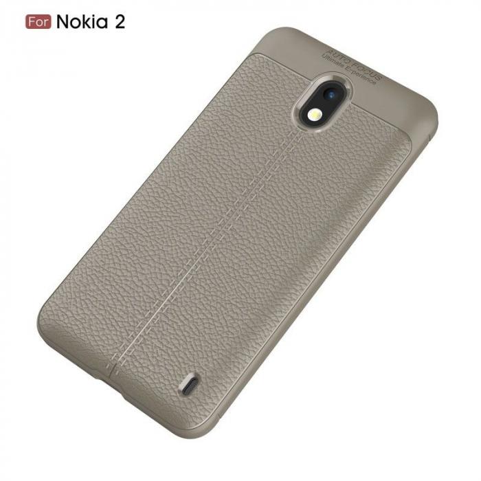 Husa Nokia 2 Tpu Grain - gri 1