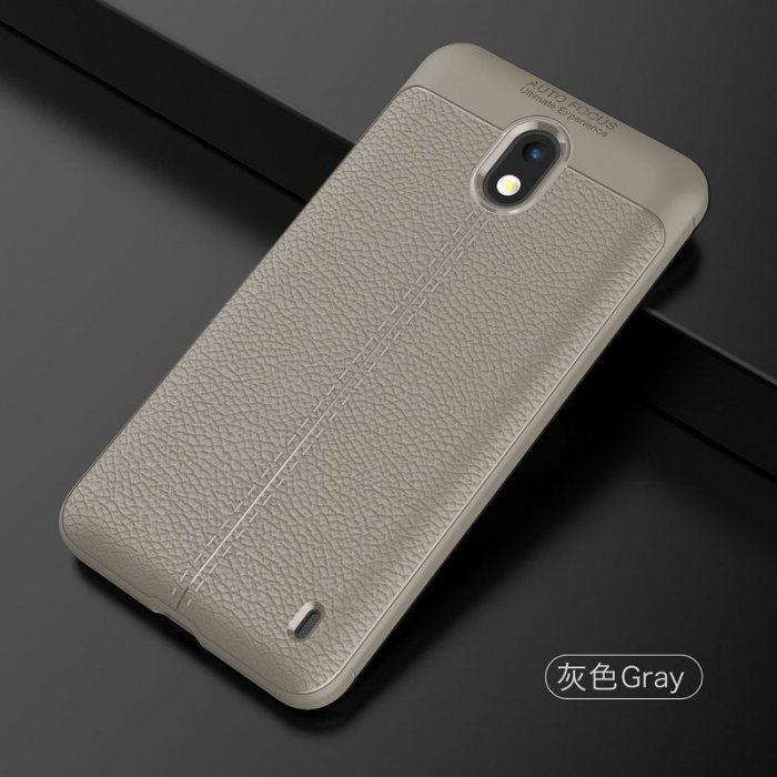 Husa Nokia 2 Tpu Grain - gri 2