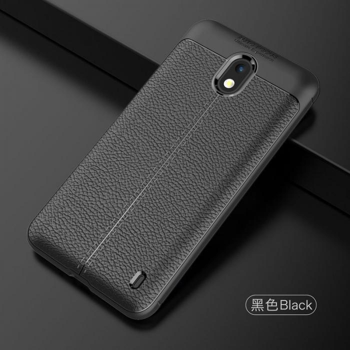 Husa Nokia 2 Tpu Grain - negru 2