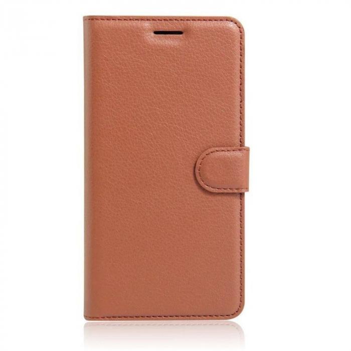 Husa Nokia 6 Crazy Horse Flip Book - maro 0