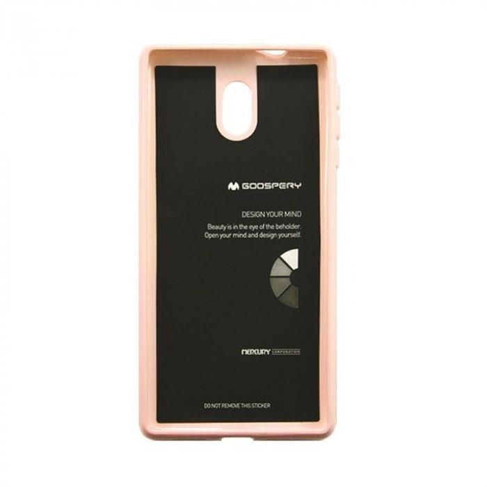Husa  Nokia 3 Goospery Mercury Jelly Case Silicon - roz 2