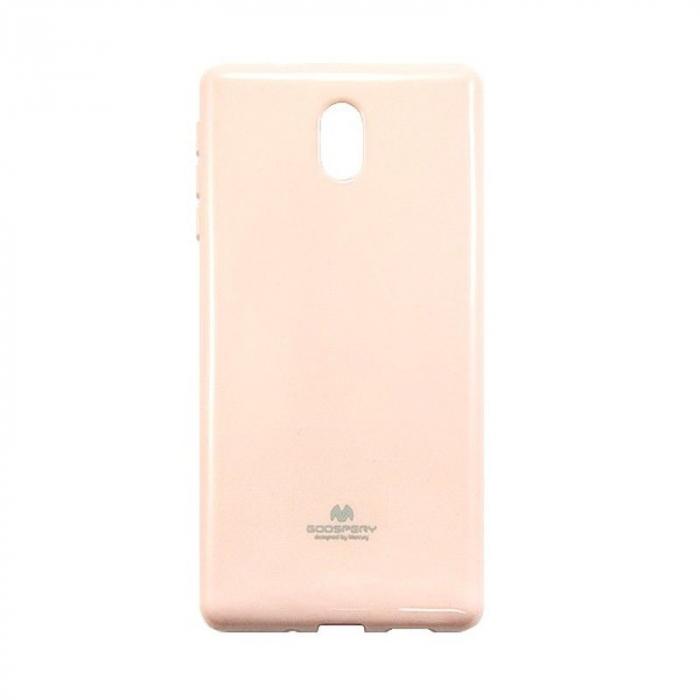 Husa  Nokia 3 Goospery Mercury Jelly Case Silicon - roz 1