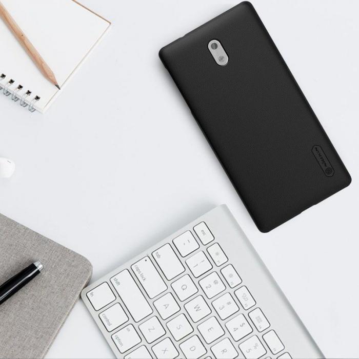 Husa Nokia 3 Nillkin Frosted Shield - negru 1