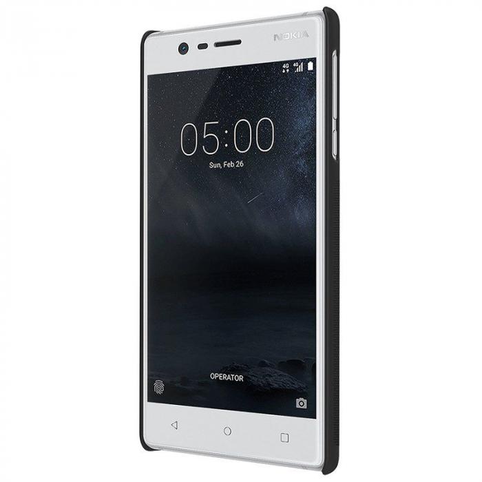 Husa Nokia 3 Nillkin Frosted Shield - negru 2