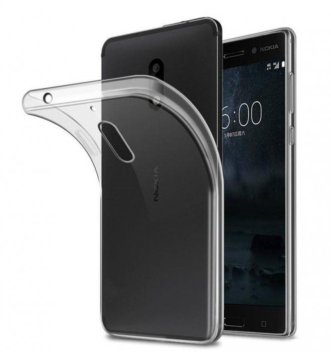 Husa Nokia 6 Silicon TPU extra slim 0.5mm - transparent 0
