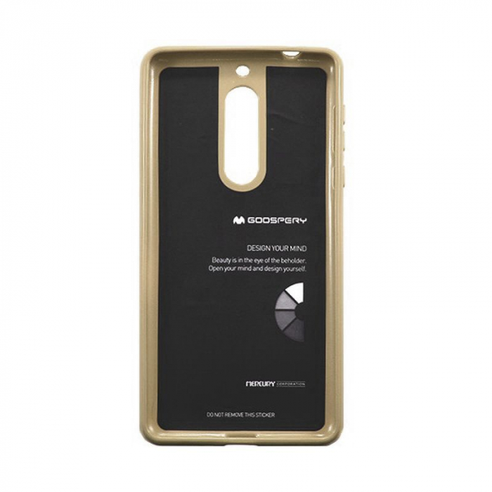 Husa Nokia 5 Goospery Mercury Jelly Case Silicon - gold 2
