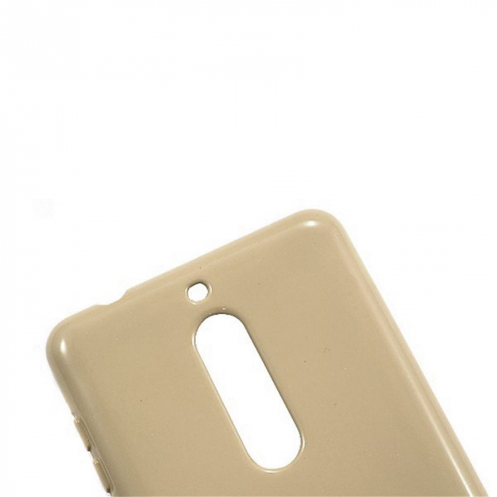 Husa Nokia 5 Goospery Mercury Jelly Case Silicon - gold 5