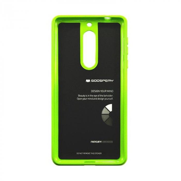Husa Nokia 5 Goospery Mercury Jelly Case Silicon - lime 2