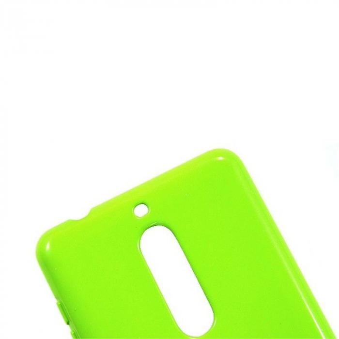 Husa Nokia 5 Goospery Mercury Jelly Case Silicon - lime 5
