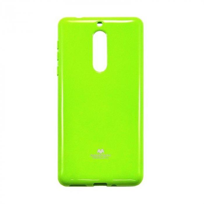Husa Nokia 5 Goospery Mercury Jelly Case Silicon - lime 1