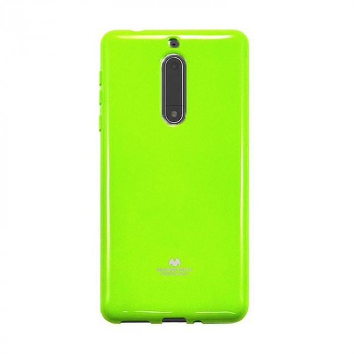 Husa Nokia 5 Goospery Mercury Jelly Case Silicon - lime 0