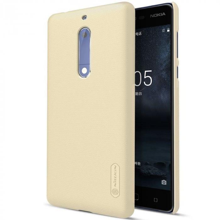Husa   Nokia 5 Nillkin Frosted Shield - gold 0