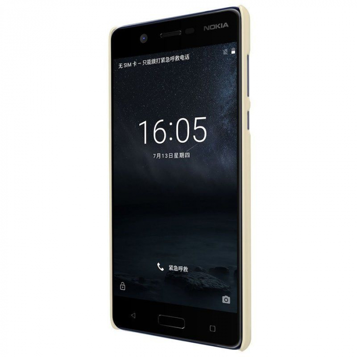 Husa   Nokia 5 Nillkin Frosted Shield - gold 1