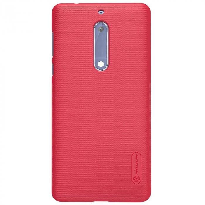 Husa   Nokia 5 Nillkin Frosted Shield - rosu 5